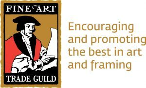 Fine Art Trade Guild Logo / Encouraging and promoting the best in Art and Framing