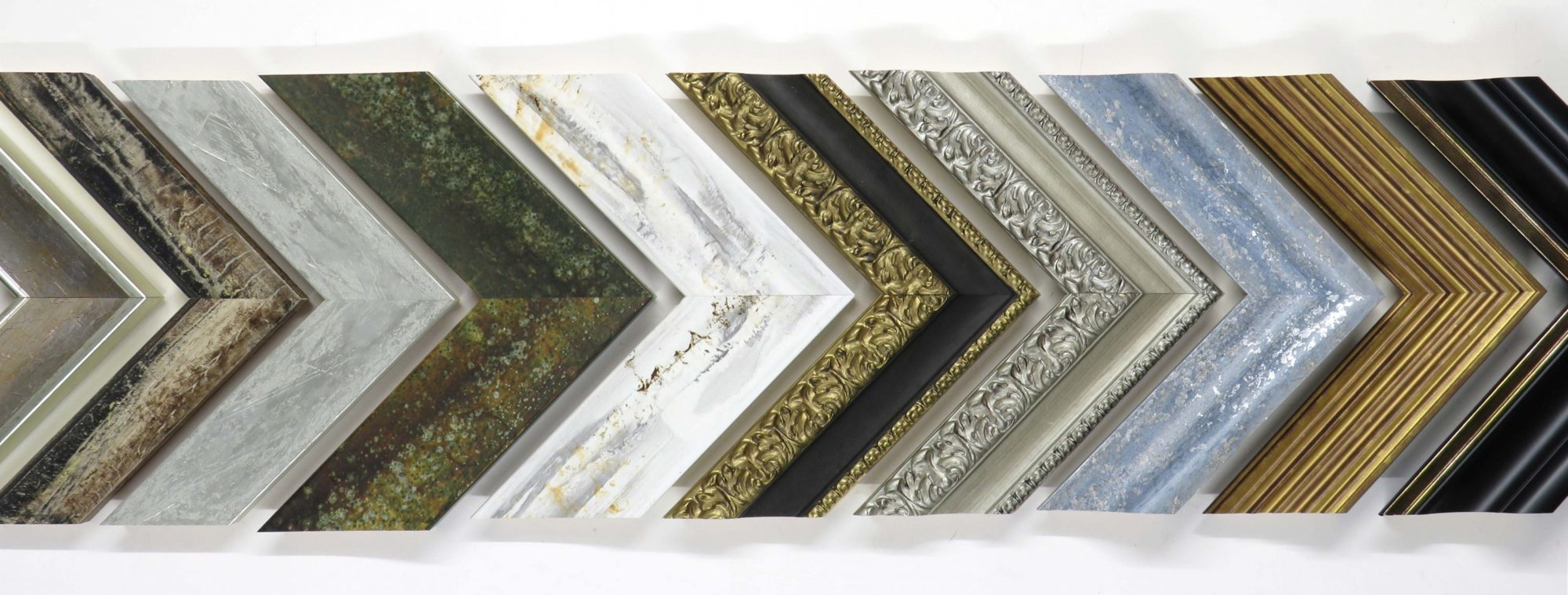Fisherton Framing can frame mirrors in a variety of different mounts and styles.